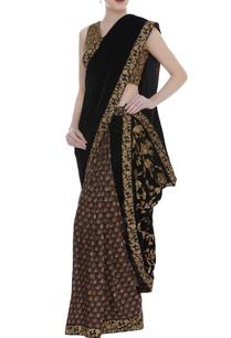 embroidered-sari-blouse-with-thread-work