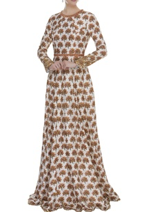 embroidered-printed-gown