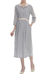 striped-midi-dress-with-front-pocket