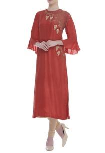 beaded-embroidered-bell-sleeves-kurta