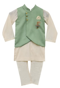 embroidered-nehru-jacket-with-kurta-churidar