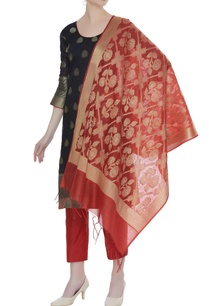 hand-woven-chanderi-cotton-kurta-set