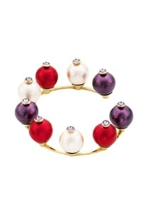 multicolored-pearls-handcrafted-cuff-bangle