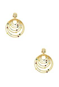 serpent-orb-allure-hoop-earrings