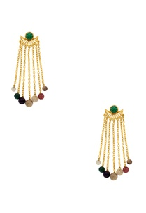 handcrafted-multicolored-long-fringe-earrings