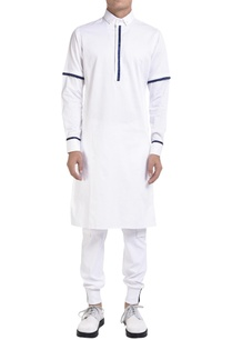 long-sleeve-kurta-with-blue-detailing