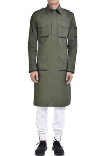 military-inspired-kurta-with-epaulets