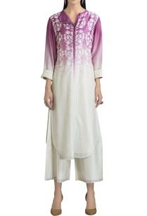 chanderi-floral-printed-kurta-set