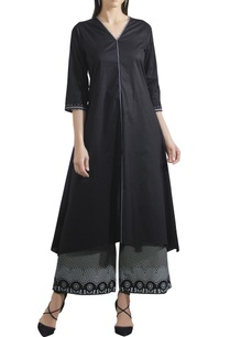 lawn-cotton-flared-kurta-with-pants