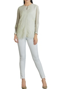 georgette-banana-leaf-embroidered-blouse