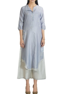 chanderi-silk-floral-embroidered-kurta-with-palazzos
