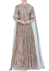 printed-gown-with-drape-dupatta