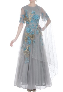 embroidered-net-gown-with-dupatta