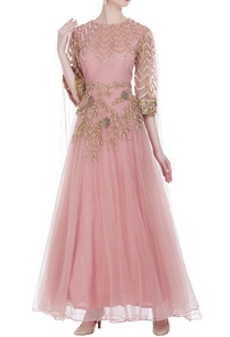embroidered-anarkali-gown-with-attached-dupatta