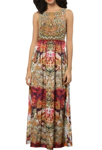 multi-printed-crepe-patchwork-maxi-dress