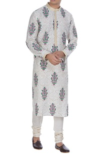 block-print-kurta-with-side-slit