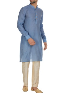 chanderi-silk-kurta-with-pants