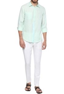 summer-cotton-button-down-shirt