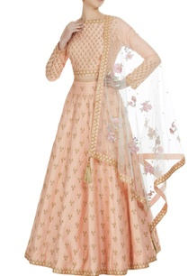 gota-embroidered-lehenga-with-choli-and-parsi-dupatta