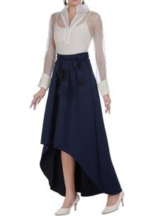 neoprene-mullet-skirt-with-3d-flowers