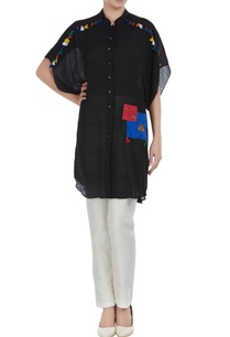 linen-silk-button-down-embroidered-tunic