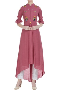 linen-silk-floral-embroidered-high-low-tunic
