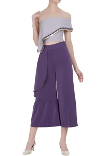 ruffle-off-shoulder-blouse-culottes