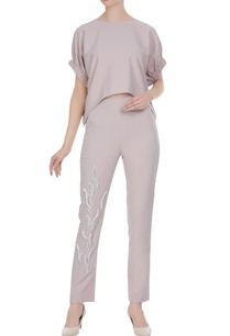 boxy-blouse-with-sequin-embellished-straight-fit-pants