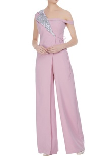 overlap-sequin-embroidered-sleeveless-jumpsuit