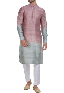 ombre-pattern-kurta-and-churidar