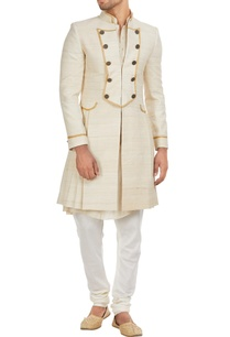 muga-silk-sherwani-set