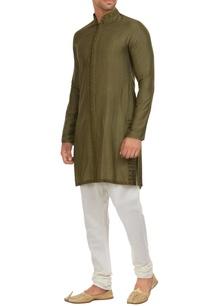 matka-silk-classic-kurta-with-churidar
