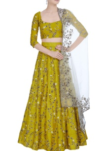 sequin-bead-embroidered-lehenga-set