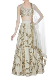 raw-silk-sequin-embroidered-lehenga-set