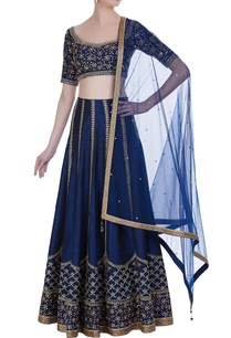 raw-silk-hand-embroidered-pearl-swarovski-lehenga-set