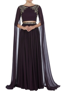 hand-embroidered-cutdana-pearl-lehenga-with-blouse
