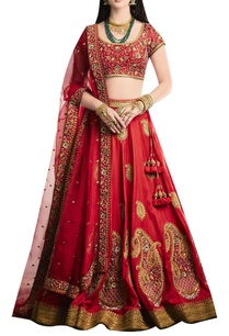 hand-embroidered-lehenga-with-blouse-and-dupatta