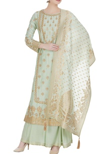 embroidered-kurta-with-dupatta-and-sharara