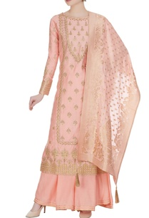 gota-embroidered-kurta-with-sharara-pant-and-dupatta