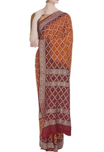 pure-georgette-hand-dyed-sari-unstitched-blouse