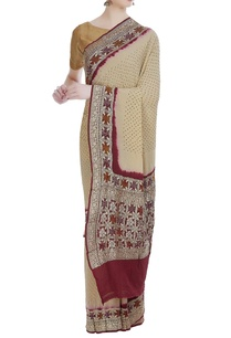 hand-woven-bandhani-sari-with-unstitched-blouse