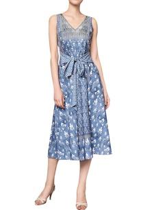 floral-printed-rajasthani-inspired-midi-dress