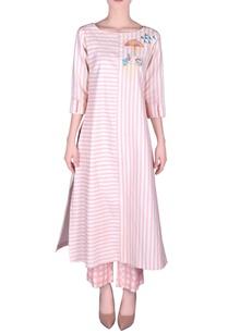 khadi-stripe-kurta-with-pants