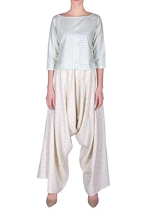 striped-crop-top-dhoti-pants