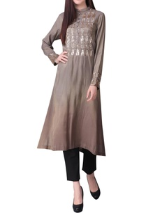 embroidered-flared-hem-tunic
