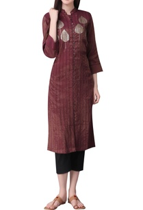sequin-embroidered-tunic-with-loop-button-placket