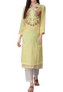 floral-print-tunic-with-button-placket-detail