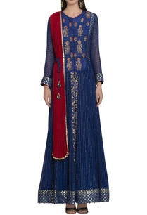 matka-silk-georgette-zardozi-embroidered-anarkali-set