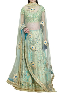 gota-thread-embroidered-lehenga-set