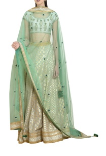 brocade-raw-silk-chanderi-lehenga-set